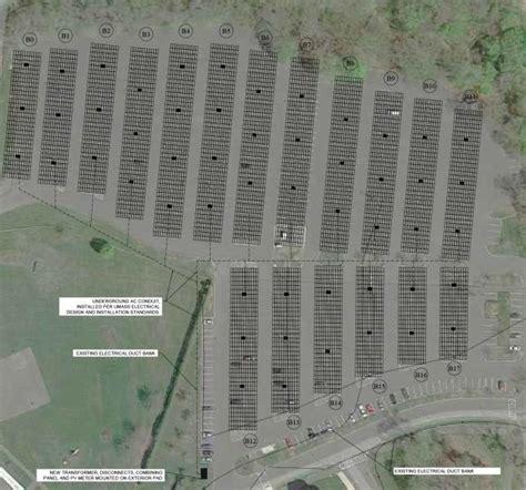 Umass Amherst Parking Garage by Cus Solar Design Construction Management Umass