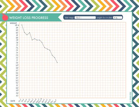 printable monthly weight loss calendar 7 best images of printable weight loss progress chart