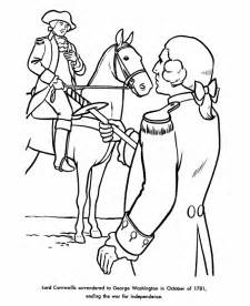 Revolutionary War Soldiers Coloring Pages America sketch template