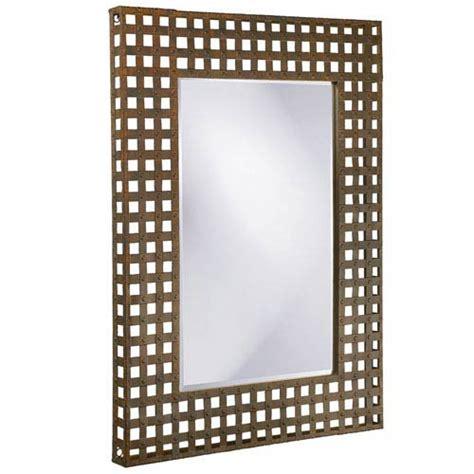 kent metal 18 inch mirror avanity wall mirror bathroom rectangular metal frame mirror bellacor