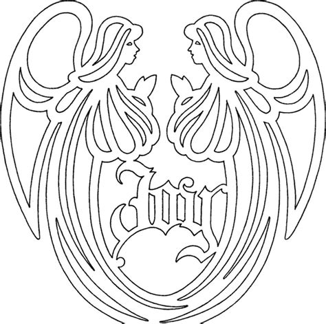 scroll pattern en español scroll saw angel musical angel vw scherenschnitte and