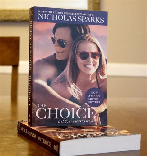 the choice books nicholas sparks does it again with the choice luck
