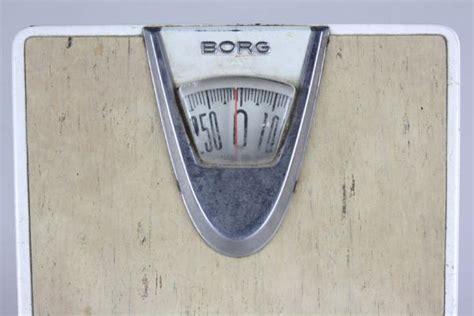 Borg Bathroom Scale by Vintage 50s 60s Neat Retro Borg Bathroom Scale Atomic