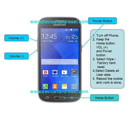 reset android galaxy ace hard reset or factory reset samsung galaxy ace style lte