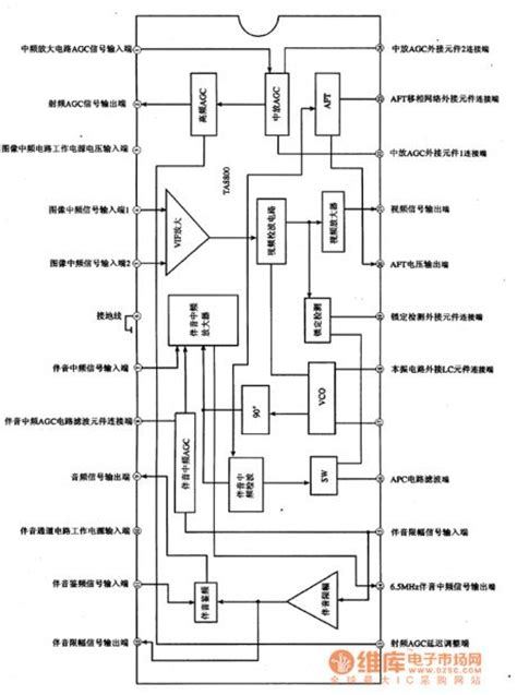 how does an integrated circuit signal information index 185 signal processing circuit diagram seekic