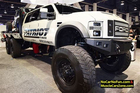 diesel brothers super six huge 6 door ford truck by dieselsellerz with buggy on top