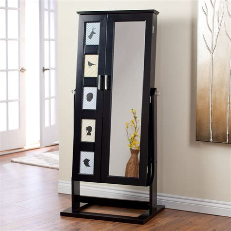 hayneedle jewelry armoire belham living photo frames jewelry armoire cheval mirror