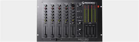 Katalog Mixer Audio rodec mx180 original 5 kanal audio mixer 19 quot