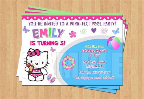 1000 images about kid s bday on centerpieces swim invitations and