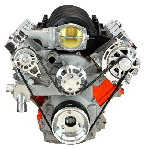 one ls ls chevy victory series kit with alternator only machined