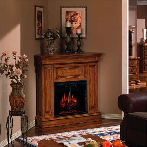Small Room Fireplace by A Corner Electric Fireplace Is Suitable For Small Rooms