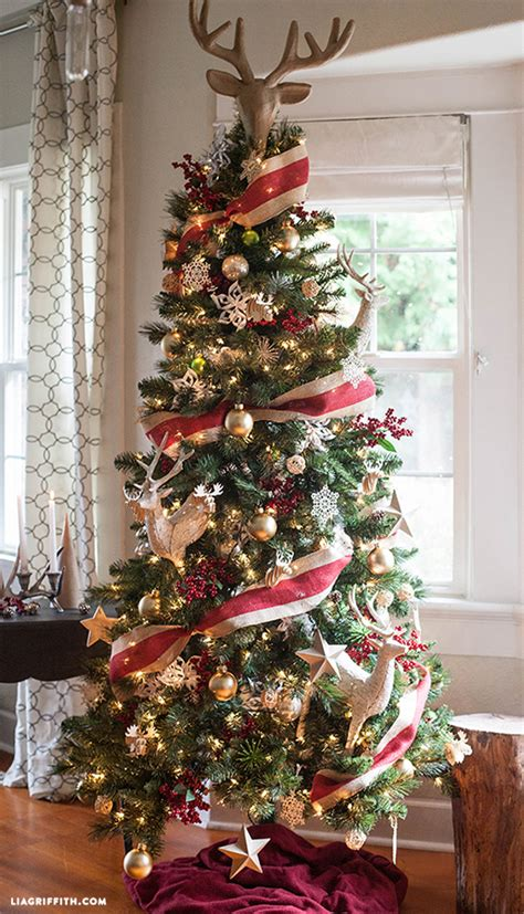tree decoration ideas 15 amazing christmas tree ideas pretty my party
