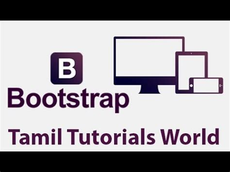 bootstrap tutorial on youtube advance bootstrap tutorial in tamil create pagination in