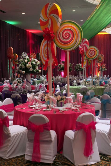 candyland themed centerpieces candyland theme quinceanera my quince