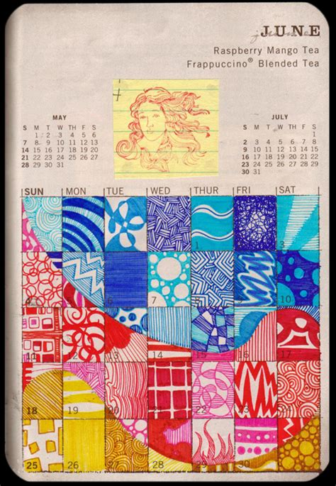 doodle calendar login june starts by atychiphobe on deviantart