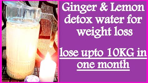 Lemon Detox Water Lose Weight Fast by Lemon Detox Water For Weight Loss How To