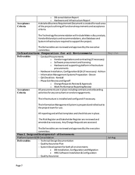 project design criteria document genrays project charter