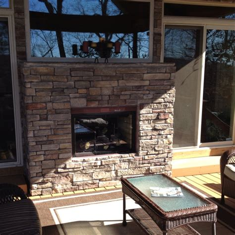 Indoor Outdoor Fireplaces by Indoor Outdoor Fireplace Ideas For Our Porch