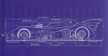 print plans 1989 batmobile blueprints