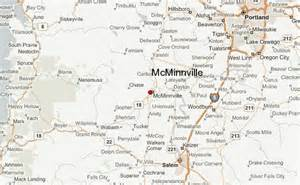 map day oregon mcminnville location guide