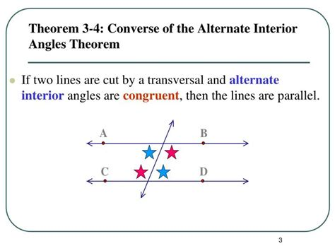 Definition Of Alternate Interior Angles Theorem by Ppt Proving Lines Parallel Powerpoint Presentation Id 2952871