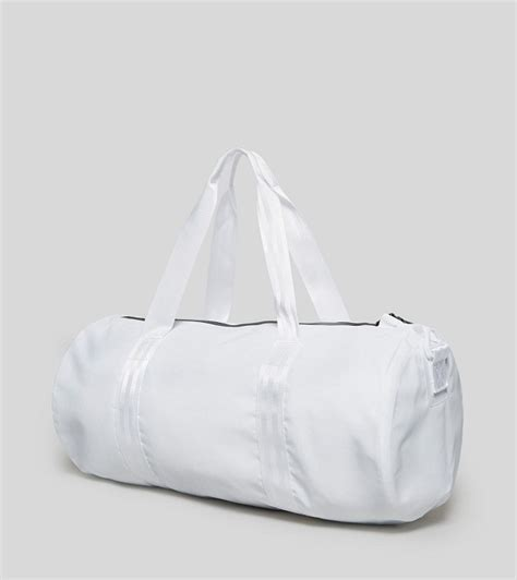 white duffle bag  fashion bags