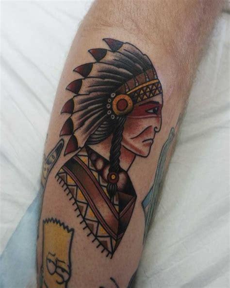 best indian tattoo designs indian chief best ideas gallery