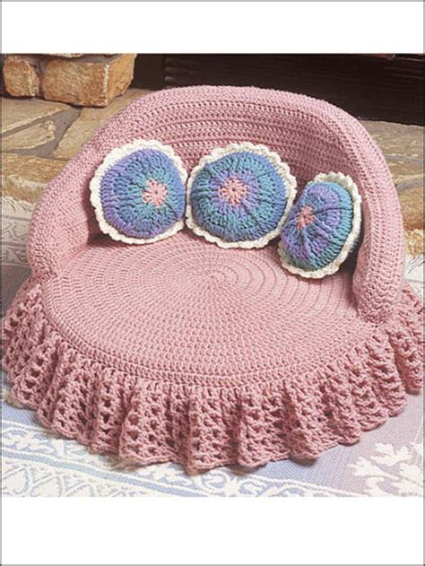 bed patterns patterns for crochet pet bed easy crochet patterns