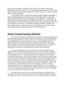 Teaching Essay by Self Reflection Essay For Teachers Self Reflection Essay Academic Coaching And Writing Llc