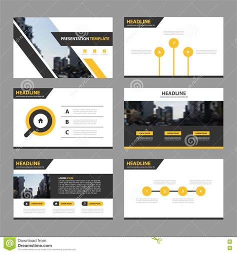 blue green abstract presentation templates infographic