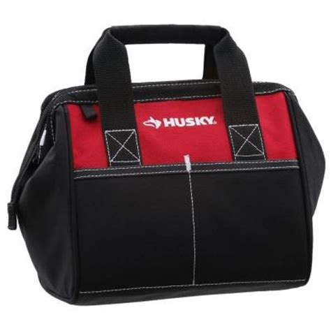 husky 10 in tool bag 82124n14 the home depot