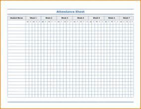 Attendance Sheet Template Word by School Attendance Template Payslip Sle Uk Funeral Flyer