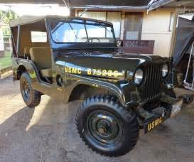 1953 Willys Jeep 1953 Jeep Willys M38a1 For Sale 4x4 Cars