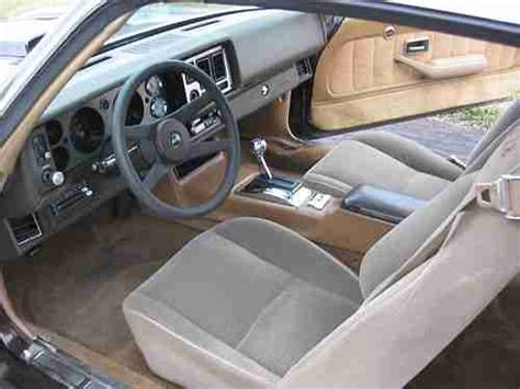 sell used 1981 z28 camaro v8 t tops new paint interior