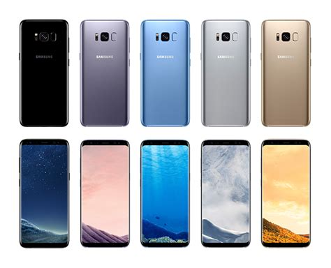 Samsung S8 Black Gold Orchid Grey samsung galaxy s8 and s8 finally launched specifications pricing and availability