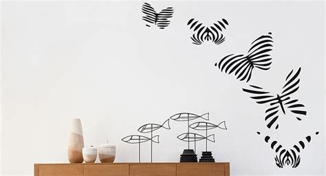 decorazione muri interni fai da te stencil decorativi per pareti casa fai da te