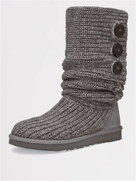 Classic Cardy Ugg Boots Will You Get Them by Ugg Ugg Australia Classic Cardy Boots Grey In Gray Grey