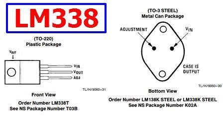 transistor lm338k datasheet lm338 datasheet 5 adjustable regulators national