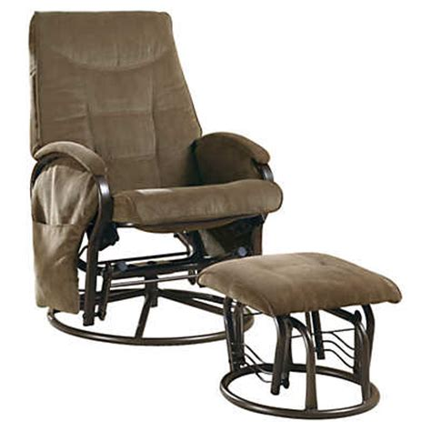 rocker recliner with ottoman chenille swivel rocker recliner with ottoman smart furniture