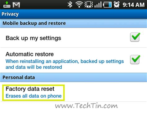 android how to wipe device clean restore factory settings nuvision tablet reset to factory mobile news insider