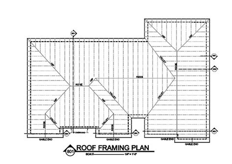 roof building plans roof framing plan what is it