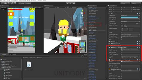 tutorial for unity unity 2d camera follow script unity 3d tutorials
