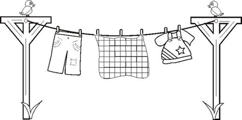 laundry basket coloring page coloring pages