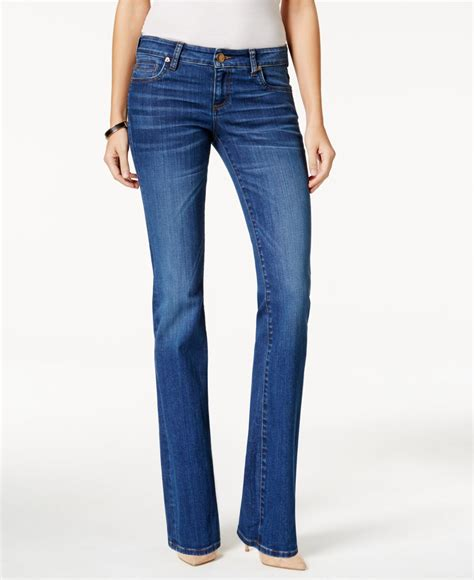 Kulot Jins kut from the kloth natalie bootcut inclusion wash in blue inclusion lyst