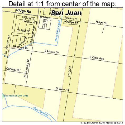 san juan texas map san juan texas map 4865516