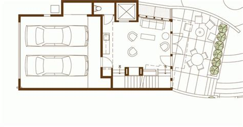 modern row house plans floor plan modern row house replace garage with some other