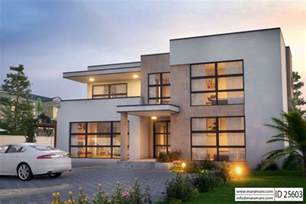 House With 5 Bedrooms Modern 5 Bedroom House Design Id 25603 Floor Plans By