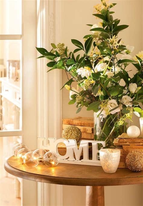imagenes decorar en navidad ideas para decorar de navidad tu casa en dorado y blanco