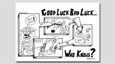doodle meaning in luck bad luck iq doodle