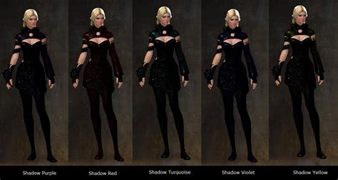 guild wars 2 dye gw2 shadow dyes now available in gemstore dulfy